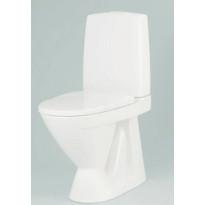 WC-istuin Ido Seven D 12, korkea kiinnitysreiillä, sis. WC-istuinkannen, Tammiston poistotuote