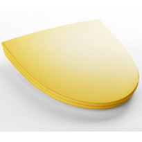 WC-istuinkansi IDO Glow 91570, kova, soft close, keltainen