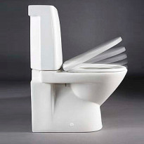 WC-istuinkansi IDO Seven D 91533 valkoinen kova Slow Close