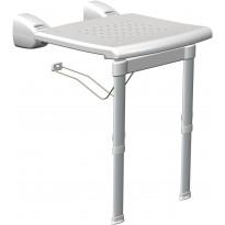 Suihkuistuin K Design PR-WSL-PP-BX, 420x510x400-550mm