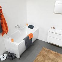 Kylpyamme IDO Seven D 1400 akryyli suorakulma valkoinen