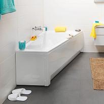 Kylpyamme IDO Seven D 1600 akryyli epäsymmetrinen oikea valkoinen