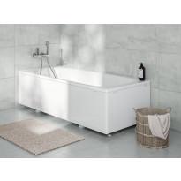 Kylpyamme IDO Trevi 1400,1400x700x520 mm, emali, valkoinen