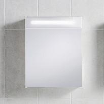 Peilikaappi IDO Seven D 500x600x150 mm valkoinen valaisimella ja pistorasialla