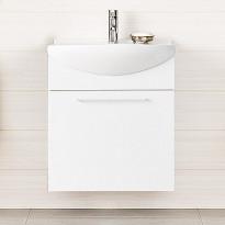 Alakaappi IDO Select Small 594x620x320 mm laatikolla valkoinen korkeakiilto