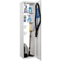 Siivouskaappi Polaria SIK 400, sylinterilukko, oikeakätinen, Verkkokaupan poistotuote