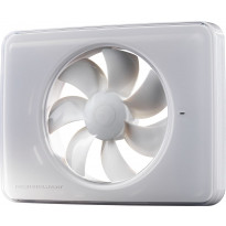 Kylpyhuonepuhallin Fresh Intellivent 2.0, valkoinen