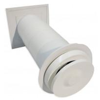Korvausilmaventtiili Terveysilma Velco VLR-100, valkoinen