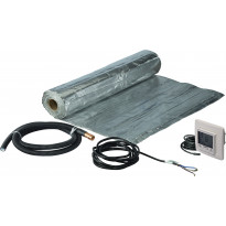 Lattialämmityspaketti Uponor Comfort E Dry 140-2, 280 W, termostaatilla