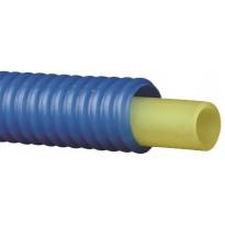 Käyttövesiputki Pex-C 15x2,5 mm sinisessä 23/28 suojaputkessa 50 m