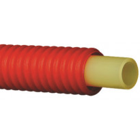 Käyttövesiputki Pex-C 18x2,5 mm punaisessa 23/28 suojaputkessa 50 m
