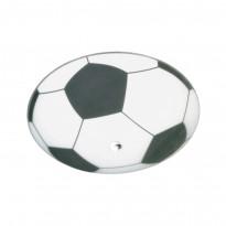 Plafondi Fotboll, Ø360x170mm, valkoinen/musta