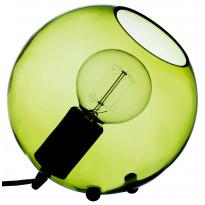 Pöytävalaisin Hollie, Ø200mm, vihreä lasi