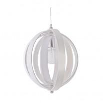 Riippuvalaisin Swing, Ø400x400mm, puu valkoinen