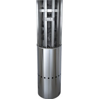 Sähkökiuas Magnum Original Pylväs, 6.6kW, 5-9m³, erillinen ohjaus