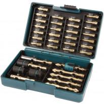 Ruuvauskärkisarja Makita B-54536, 38-osainen, Impact Gold