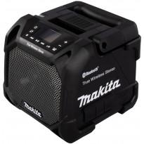 Bluetooth-kaiutin Makita DMR203B, USB, 10.8-18V/230V, ilman akkua