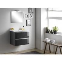 Kylpyhuoneryhmä Mimo Furniture Victoria 60, softclose, lakattu musta