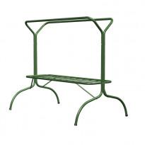Tuuletusteline Markki, Y-kiinteä yläkehä, sinkitty ja maalattu, vihreä