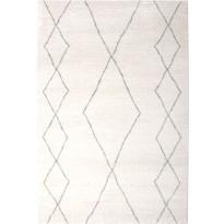 Matto Polygon 133x195cm, valkoinen