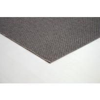 Matto Amos 80x150cm, ruskea/tummanharmaa