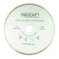 Timanttilaikka Procat Ø180mm, keskiö 25.4mm