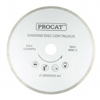 Timanttilaikka Procat Ø200mm, keskiö 25.4mm