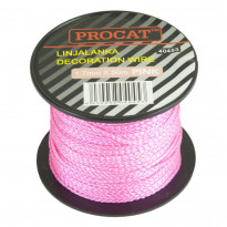 Linjalanka Procat Ø1.7mm, pinkki, 50m/rll