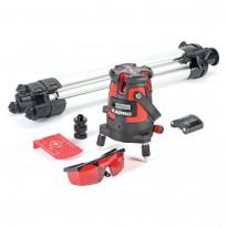 Itsetasaava laser Kapro 873, 1v+5p, punainen