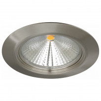 LED-alasvalo MD-152 IP44 65° 12W 230V Ø 120x80 mm 3000K 831lm satiini