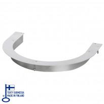 Integrointikaulus Kalla 6.6/9kW kiukaille, steel
