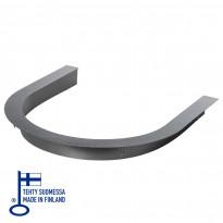 Integrointikaulus High Balance 6.6/9kW kiukaille, musta