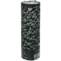 Sähkökiuas Mondex Tahko M, 10.5kW, 12-22m³, kiinteä ohjaus, musta
