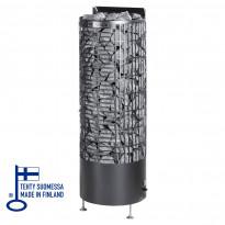 Sähkökiuas Kalla E-malli, 6,6kW, (6-9m³) musta