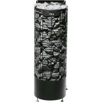 Sähkökiuas Kalla E-malli, 9kW, (8-15m³) musta