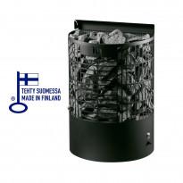 Sähkökiuas Teno E-malli, 9 kW, (8-13m³), musta, Tammiston poistotuote