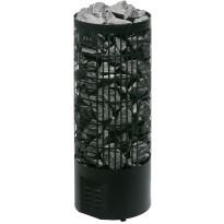 Sähkökiuas Tahko E-malli, 10,5kW (12-22m³), musta