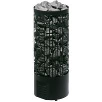 Sähkökiuas Mondex Tahko E-malli, 10.5kW, 12-22m³, erillinen ohjaus, musta