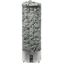 Sähkökiuas Pipe E-malli, 10,5kW (12-22m³) steel