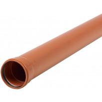 Viemärin muhviputki Meltex, NAL, SN8, Ø160x6000 mm