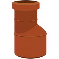 Viemärin supistusyhde Meltex, NAL, Ø160/110 mm