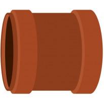 Kaksoismuhvi Meltex, NAL, Ø160 mm