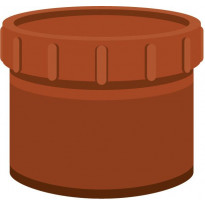 Viemärin puhdistustulppa Meltex, NAL, Ø160 mm