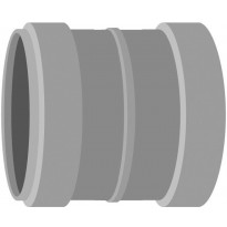 Viemärin kaksoismuhvi Meltex, HT, Ø75 mm