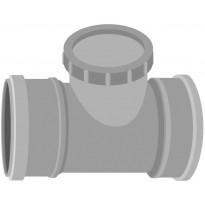 Viemärin muhvipuhdistusyhde Meltex, HT, Ø75 mm