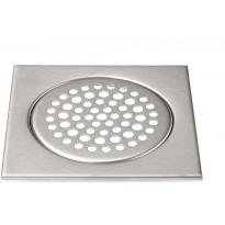 Lattiakaivon kansi Meltex, neliö, 197x197 mm, ruostumaton teräs, matta