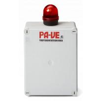 MX-pumppaamon ylärajahälytyskeskus Meltex, 230V valolla
