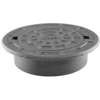 Valurautakehys Meltex, Ø315 mm, pyöreä, 40 tn
