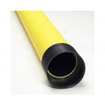 Kaapelinsuojaputki Meltex, TEL B, Ø110/95 mm x 6 m, keltainen, tupla