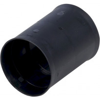 Jatkoholkki Meltex, Ø110 mm, musta, TEL-muhvi